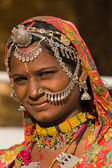 Portrait indian woman — Foto de Stock