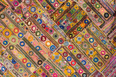 Indian patchwork carpet — 图库照片
