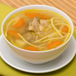 chicken soup&quot — Stock Photo
