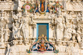 Details of Hindus god in a temple, India. — Stock Photo