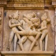 Temples of Khajuraho, famous for their erotic sculptures — Stock Photo #16243539