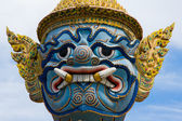 Mythical figure of Grand Palace, Bangkok Thailand. — Stock Photo
