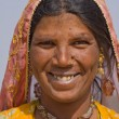 Portrait of an Indian woman — Stock Photo