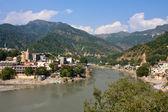 Ganges river, Rishikesh, India. — Stock Photo