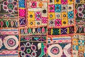 Tapis patchwork indien — Photo