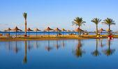 Playa en egipto — Foto de Stock