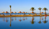 Beach in Egypt — Stock Photo