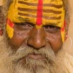 Indian sadhu (holy man) — Stock Photo