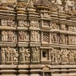 Temples of Khajuraho, famous for their erotic sculptures — Stock Photo #17571061