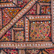 Indian patchwork carpet — Stock Photo #17571271