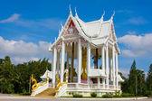 Templo branco — Foto Stock