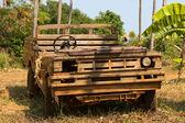Vecchia macchina di legno — Foto Stock