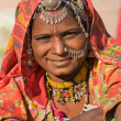 Portrait indian woman — Stock Photo