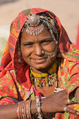 Portrait indian woman — Stock Photo