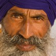 Sikh man in Amritsar, India. — Stock Photo