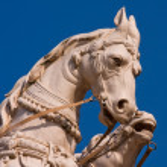 Horse statue — Stock Photo #18670495