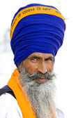 Sikh men in Amritsar, India. — Stock Photo