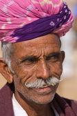 Pushkar camel mela (fiera dei cammelli di pushkar) — Foto Stock