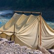 Camp at Ganges river . — Stock Photo #19279825