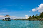 木製の桟橋、タイ. — ストック写真