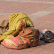 Poor in Haridwar, India — Stock Photo