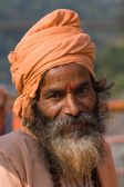 Indian sadhu (holy man). — Stock Photo