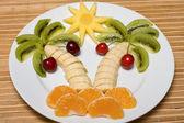 фруктовый салат — Стоковое фото
