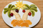 Ovocný salát — Stock fotografie