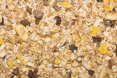Closeup of a pile of muesli — Stock Photo