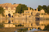 Gadisagar lake, Jaisalmer, India — Stock Photo