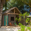 Tropical beach house in Thailand — Stock Photo