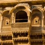 Haveli in Jaisalmer, Rajasthan, India — Stock Photo