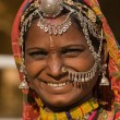 Portrait of a India Rajasthani woman — Stock Photo #20195779