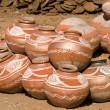 Indian clay pot — Stock Photo