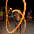 Full moon party in island Koh Phangan, Thailand — Stock Photo
