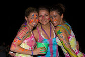 Full moon party in island Koh Phangan, Thailand — Foto Stock