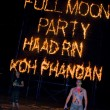 Stock Photo: Full moon party in island Koh Phangan, Thailand