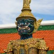 Mythical figure from the buddhist temple of Grand Palace, Bangkok Thailand. — Stock Photo