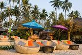 Tropical beach in Thailand — Foto Stock