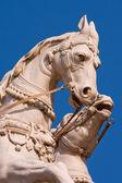 Horse head statue. Rishikesh , India — Stock Photo