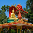 Temple in Vientiane,Laos — Stock Photo