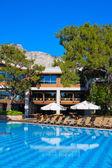 Swimming pool in Turkey — Stock Photo