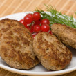 Fried cutlet — Stock Photo
