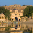 Gadi Sagar Gate, Jaisalmer, India — Foto Stock #22600311
