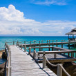 Wooden pier, Thailand. — Stock Photo #22600385