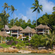 Tropical beach house , Thailand — Stock Photo
