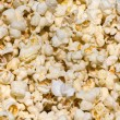 Salted popcorn background — Foto Stock