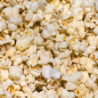 Salted popcorn background — Foto de Stock