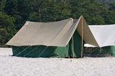 Camp at Ganges river . Uttarakhand, India. — Stock Photo