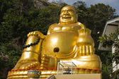 Smiling Buddha in Thailand — Stock Photo